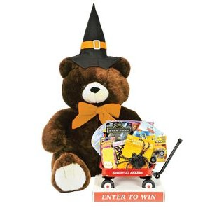 Halloween Bernie the Bear in-store Sweepstakes Promotion / Give-away