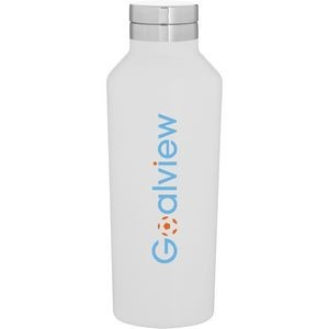 16.9oz H2go Manhattan Bottle (Matte White)